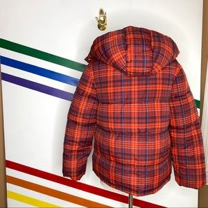 Urban Outfitters Jackets & Coats - NEW Urban Outfitters Riley Plaid puff hooded coat